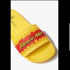 Hot cheeto slides